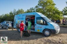Οι αποσκευές φορτώνονται στο όχηματου Κωστορίζου με προορισμό το Νεοχώρι Υπάτης