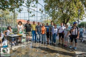 Οργανωτική Επιτροπή και εθελοντές στη Σπερχειάδα