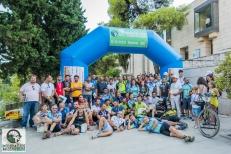 ΤΕΛΟΣ! Οι ποδηλάτες που τερμάτισαν, με την Οργανωτική Επιτροπή και τους Εθελοντές.