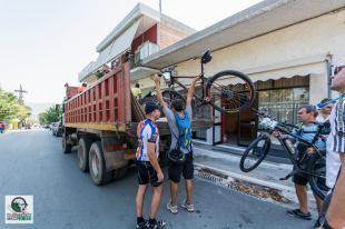 Φόρτωση ποδηλάτων