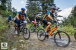 Οι ποδηλάτες στα πρώτα μέτρα της διαδρομής!!